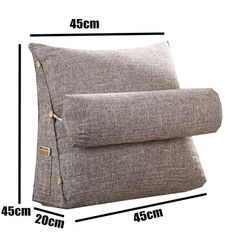 Wedge Cushion, Wedge Pillow, Back Support Pillow, Support Pillows, Cushions On Sofa, Bed Pillows, Cheap Decorative Pillows, Cushion Cover Designs, Bed Rest