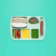 Dschwen. Food breakdown, hot dog.