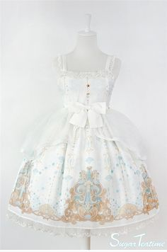 --> #LolitaUpdate: [-★-Mermaid's Tears-★-] Lolita JSK I and II --> Learn More: http://www.my-lolita-dress.com/sugar-teatime-mermaid-s-tears-lolita-jsk-i-and-ii-sut-1