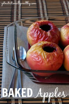 Baked Apples | Butternutrition.com
