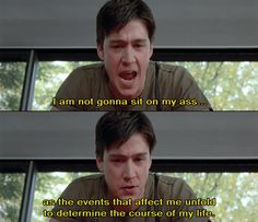 A writer friend of mine, whom I respect, hates this movie - he sees no overall arc to the story and Ferris' character development. So why is it on all the time? There must be something to it that 'sticks'. 80s Movies, Iconic Movies, Classic Movies, Film Movie, Good Movies, Tv Show Quotes, Movie Quotes, Movies Showing, Movies And Tv Shows