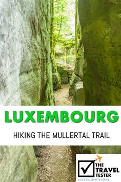 There are some great hiking spots in Luxembourg, here is a great one for easy hiking! | The Travel Tester