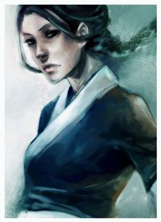 Stunning Katara.... painting? (is it a painting?)