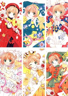 Sakura! Card captors, what!?