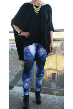 Call me crazy, but I want a pair of galaxy leggings.