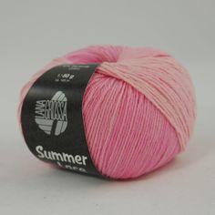 Coco 1 weiß//orange//pink 50 g Wolle Kreativ Fb Lana Grossa