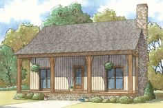 This country design floor plan is 1764 sq ft and has 3 bedrooms and has bathrooms. Cottage House Plans, Cottage Homes, Cottage Style Houses, Farm House, Mountain Cottage, Mountain Homes, Beach Cottage Style, Beach House, Country Style House Plans