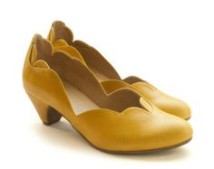 New! Yellow Nina Pumps, leather shoes,  heels shoes, handmade shoes. Women shoes, free shipping.