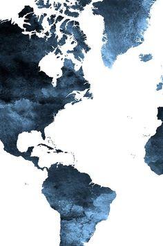 World Map Poster Large World Map Travel Map World Map Wall Art World Map Print Blue World Map Map Decor Artprintsvicky World Map Watercolor Print Travel Map Large By Artprintsvicky World Map Wall Art, World Map Poster, Art World, Trendy Wallpaper, Wallpaper Backgrounds, Iphone Wallpaper, Wallpaper Art, Screen Wallpaper, World Map Wallpaper