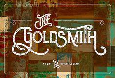 The Goldsmith Free Font
