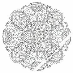 Cynthia Emerlye, Vermont artist and kirigami papercutter: An Exercise in Radial Symmetry - Thistle Motif