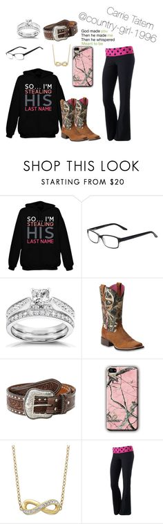 """""""For my husband. Josua Dean Tatem."""" by country-girl-1996 ❤ liked on Polyvore featuring beauty, Select-A-Vision, Annello, Ariat, M&F Western, Realtree, Kaleidoscope and SO"""