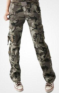 Amazon.co.jp: Calvin ブランド レディース ファッション ボトムズ カーゴ パンツ 迷彩 柄 パンツ 綺麗な足 に見える 美脚 美尻抜群 モテ スリム シルエット デザイン 高品質 レディース チノパン ストレート: 服&ファッション小物
