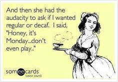 Monday Coffee Logic