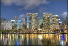 Beautiful picture of Darling Harbour, Sydney | Via: http://www.flickr.com/photos/352gb/ | Curated by Butcherman: The Online Butcher, Sydney NSW.