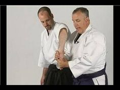 Aikido is a martial art that attacks the opponent's joints and pressure points to defend against an attack. Watch this free video clip as an Aikido expert sh. Aikido Techniques, Aikido Martial Arts, Wing Chun, Taekwondo, Chef Jackets, Bear, Man Stuff, Workout Ideas, Masters