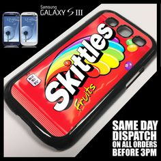 Cover for Samsung Galaxy S3 SIII i9300 Skittles>Sweets>Retro>Candy Case s3001
