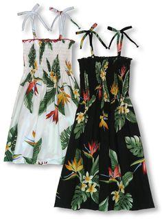 257df55409 Bird of Paradise Display Girl s Tube Dress