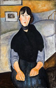 Young Woman of the People, 1918 Amedeo Modigliani