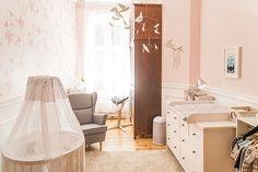 Une chambre rose pour un garçon