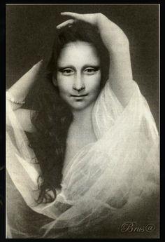 Brus© Mona Lisa Smile, Figure Painting, Van Gogh, Walls, Artwork, Friends, Paper, Collages, Contemporary