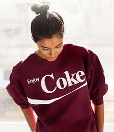 le sweat Coca-Cola de Topshop! Je le veux!!