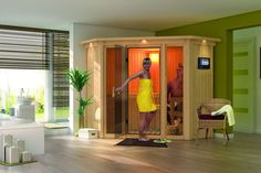 Sauna Traditionnel Flora 1-1 68 mm 196 x 196 x 198 cm KARIBU Bénéficiez de -7% sur lekingstore.com 1865€ au lieu de 1999€. Contactez nous au 01.43.75.15.90