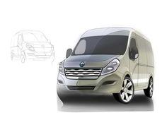 Renault Master Design Sketch