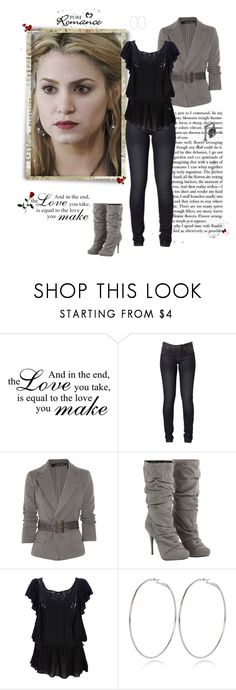 """""""Rosalie Hale (Cullen)"""" by greerflower ❤ liked on Polyvore featuring WALL, Donna Karan, Arden B. and River Island"""
