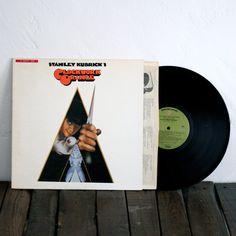 Vintage Collectible A Clockwork Orange Vinyl Record
