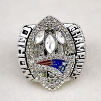 Free Shipping and Bottom Price for 2004 Replica Super Bowl New England  Patriots Championship Ring&anillos for Fans
