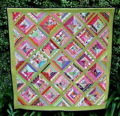 Beehive quilt - front by patchandi