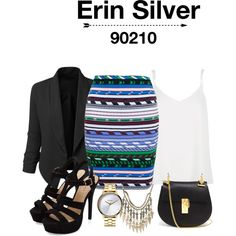 Inspired by the 90210 character Erin Silver #90210 #silver
