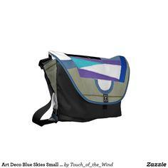 Art Deco Blue Skies Small Bag by Janz