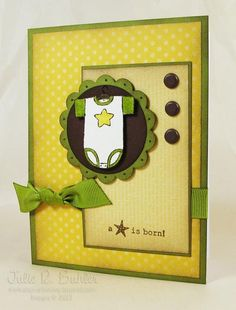 SU card by Julie R Buhler, baby