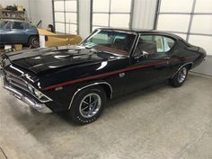 - Only 1969 4-speed Chevelle L89 ordered in Black with Red interior* - GoodGuys 2014 Hemmings Muscle Car of the Year - Concours Gold at Muscle Car Nationals, 2012 - Frame-off restoration - Matching numbers aluminum head 396/375 HP L89 engine - Muncie M21 4-speed transmission - 12 bolt rear end with 3.73 gears https://www.mecum.com/lot-detail/SC0...e-L89/4-Speed/ *I would like to know how you could document that statement when no Chevrolet production records from that time period have ever…