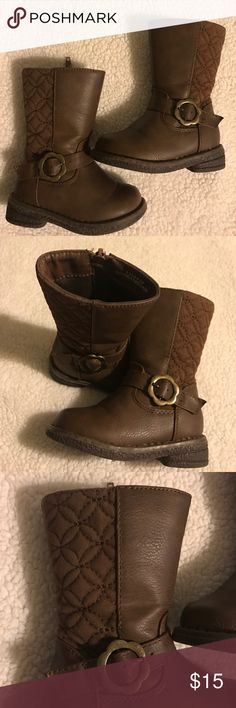 Dunnes Brown Boots Dunnes girls brown boots. These boots are adorable. Very gently worn. In great condition. Normal wear on soles as seen in pic. Dunnes Shoes Boots