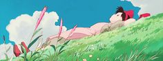 Pixel Gif, Anime Gifs, Behind Blue Eyes, Studio Ghibli Art, Cartoon Background, Ghibli Movies, Anime Scenery Wallpaper, Aesthetic Gif, Hayao Miyazaki