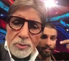 Check out Amitabh Bachchans dubsmash for Ranveer Singhs Bajirao Mastani  watch video!