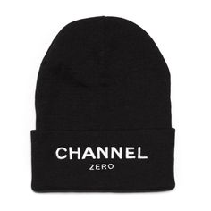 This folded Beanie features a fold up design with signature graphic on center front.
