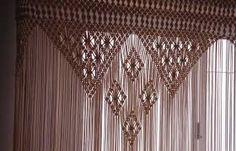 Resultado de imagen de cortinas de macrame