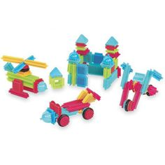Battat Bristle Blocks Basic - 112 pc and thousands more of the very best toys at Fat Brain Toys. They put 2 Bristle Blocks together and. 2 Year Old Girl, Assemblage, 2 Year Olds, Child Love, Building Toys, Cool Toys, Kids Toys, Best Gifts, Shapes