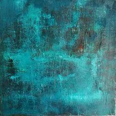 "Saatchi Art Artist Bea Palatinus; Painting, """"Chapter Blue"""" #art"