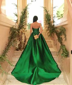 Fabulous emerald dress I Classy and Posh (@classyandposh) on Instagram
