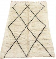 Kelim Marokkanische Berber Teppich Beni Ouarain 300 x 210 cm