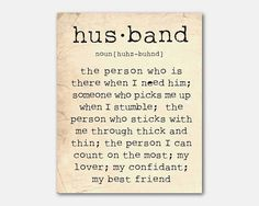 Anniversary Gift  Wall Art Husband by SusanNewberryDesigns on Etsy, $15.00
