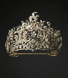 theladyintweed: tiara de la reina Charlotte, también conocido como el rococó tiara Wurttemberg