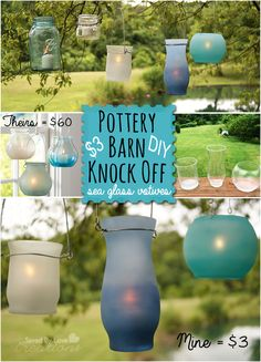 Pottery Barn Knock Off With Dollar Store Supplies @savedbyloves