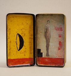 Untitled (Box) (2012) by French artist Daniel Airam (b.1958). Assemblage. via the artist's site