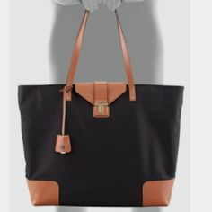 158e11d8b897 Spotted while shopping on Poshmark  Tory Burch Penn Flap-lock large tote!